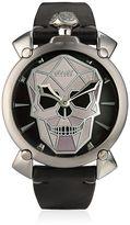 GaGa MILANO Bionic Skull Steel Watch