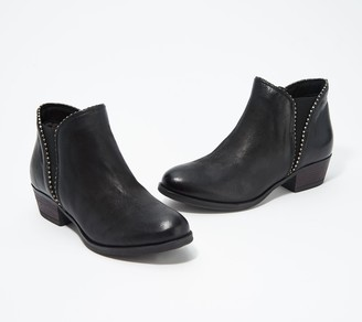 Miz Mooz Leather Ankle Boots - Barrett