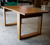 Structured Green The Jump Dining Table