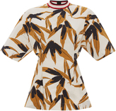 Marni Short Sleeve Printed Top