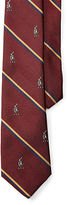 Ralph Lauren Pony Striped Silk Tie