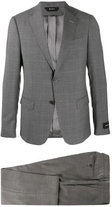 Ermenegildo Zegna Houndstooth Two-Piece Suit