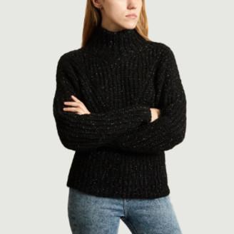IRO Paris - Black Polyamide Kellers Sweater - s   black   Polyamide - Black/Black