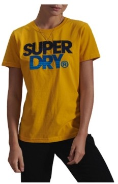 Superdry Women's Limited Edition Embroidery Fade T-Shirt
