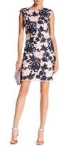 Donna Ricco Floral Embroidered Pencil Dress