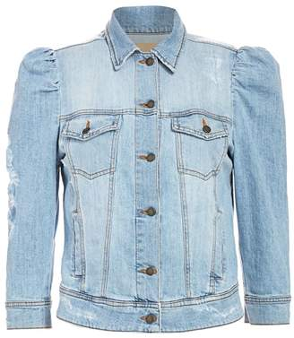 retrofete Ada Puff-Sleeve Denim Jacket