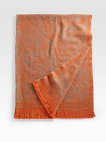 Mathet Embroidered Throw