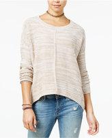Ultra Flirt Juniors' Slouchy High-Low Sweater