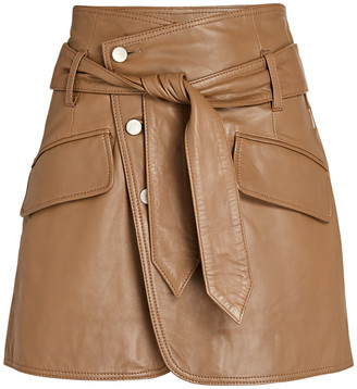 Marissa Webb Katrina Leather Mini Skirt