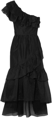 Ulla Johnson Clemente One-shoulder Ruffled Cotton And Silk-blend Organza Midi Dress