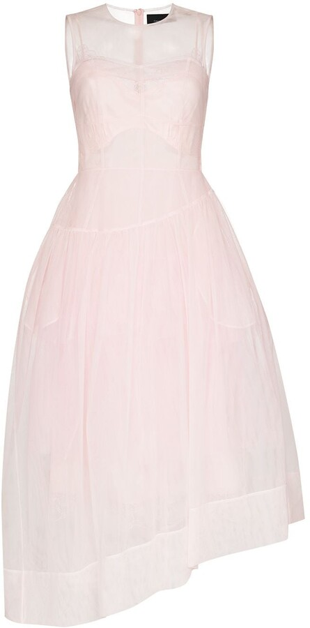 Simone Rocha Flared Organza Dress