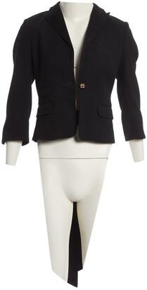 DSQUARED2 Black Wool Jackets