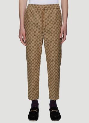 Gucci Allover GG Logo Track Pants