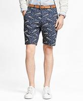 Brooks Brothers Paisley Print Shorts