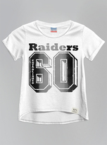 Junk Food Clothing Oakland Raiders-electric White-xs