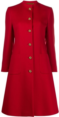 Gucci Single-Breasted Buttoned Coat
