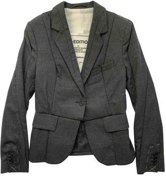 Maison Martin Margiela Pour H&m Grey Wool Jackets