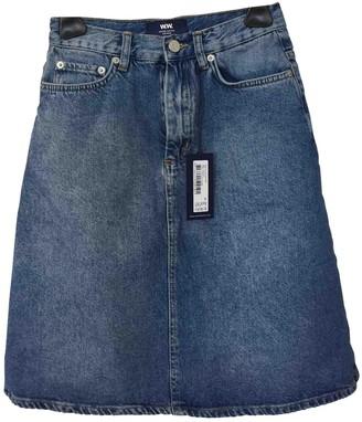 Wood Wood Blue Denim - Jeans Skirt for Women