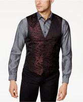 INC International Concepts Men's Slim-Fit Jacquard Metallic Vest, Created for Macy's