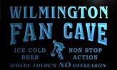 AdvPro Name td2298-b Wilmington Basketball Fan Cave Man Room Bar Beer Neon Light Sign