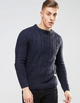Bellfield Nep Knitted Sweater