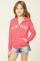 Forever 21 FOREVER 21+ Girls New York Hoodie (Kids)