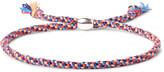 Paul Smith - Woven Silk Silver-tone Bracelet