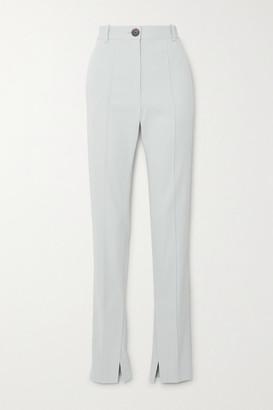 Peter Do Cady Straight-leg Pants - Light blue