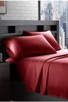 Flannel Sheet Set - Deep Red