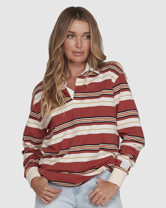 Billabong Double Up Rugby Long Sleeve Top