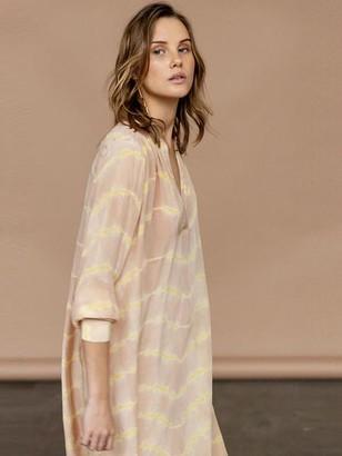 Project Aj117 - Fabienne Tie Dye Tunic Soft Pastel - XS
