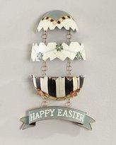 Mackenzie Childs MacKenzie-Childs Cracked Egg Easter Wall Hanging