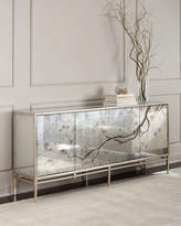 John-Richard Collection Falling Branch Eglomise Console