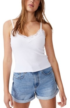 Cotton On Women's Loui Lace Cami Top