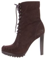Diane von Furstenberg Jameson Lace-Up Boots