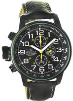 Invicta Men's Force 3332 - Black Leather/Black Analog Watches