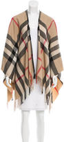 Burberry Exploded Check Poncho