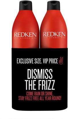 Redken Frizz Dismiss Shampoo & Conditioner 500Ml Duo