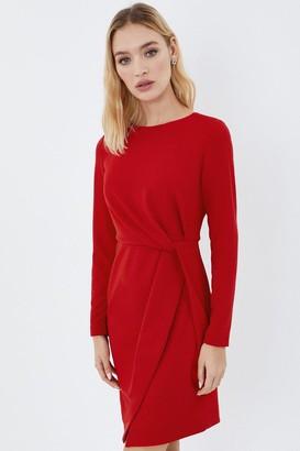 Coast Stretch Crepe Twist Dress