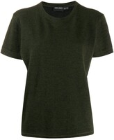 Giorgio Armani Pre Owned '1990s round neck top