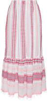 Lemlem Tabtab Convertible Cotton-blend Gauze Maxi Skirt - White