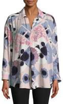 Lord & Taylor Floral Blouse