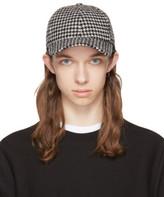 Ami Alexandre Mattiussi Black and White Houndstooth Baseball Cap