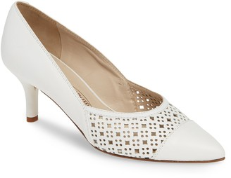 Amalfi by Rangoni Pinza Perforated Pointy Toe Pump