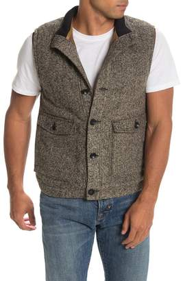 Jeremiah Sleeveless Herringbone Knit Vest