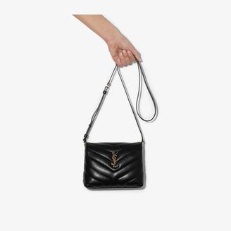 Saint Laurent Black Toy Loulou leather mini bag
