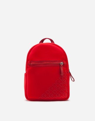 Dolce & Gabbana Neoprene Backpack With Rubberized Logo