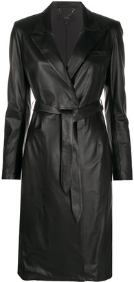 Arma Leather Coat Dress