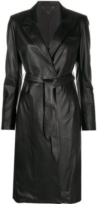 Arma Leather Coat Dress