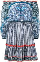 Mary Katrantzou Back of Cards dress - women - Silk/Polyester - 8